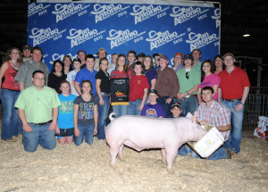 Champion York barrow SA Lauren Patterson